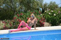 SweetSusi. In Pink By The Pool Free Pic 7