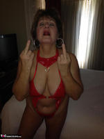 Busty Bliss. Hotel Fun - Red PVC & Bellboy Cock Pt1 Free Pic 2