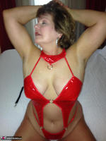 Busty Bliss. Hotel Fun - Red PVC & Bellboy Cock Pt1 Free Pic 9