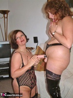 Curvy Claire. Lesbo Strap-On Fucking Pt2 Free Pic 6