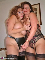 CurvyClaire. Lesbo Strap-On Fucking Pt2 Free Pic 16
