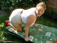 CurvyClaire. Sunbathing Pt1 Free Pic 4