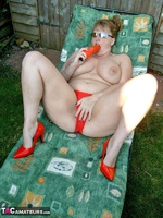 CurvyClaire. Sunbathing Pt1 Free Pic 20