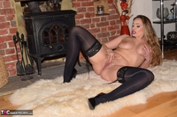 SophiaDelane. Naked In Front Of The Fireplace Free Pic 7