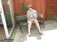 Kinky Carol. Relaxing In The Garden Pt1 Free Pic 3