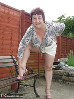 Kinky Carol. Relaxing In The Garden Pt1 Free Pic 7