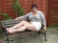 Kinky Carol. Relaxing In The Garden Pt1 Free Pic 12