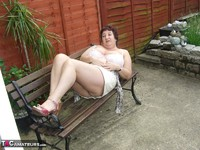 Kinky Carol. Relaxing In The Garden Pt1 Free Pic 18