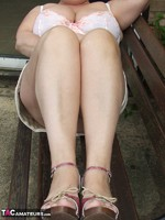 Kinky Carol. Relaxing In The Garden Pt1 Free Pic 20