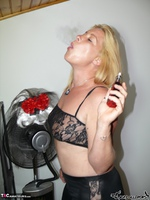 . Smoking striptease Free Pic 2