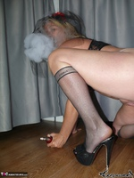 . Smoking striptease Free Pic 18