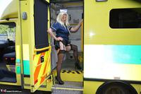 Barby Slut. Naughty Nurse & Patient Free Pic 7