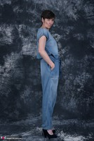 HotMilf. Denim Jumpsuit Free Pic 2