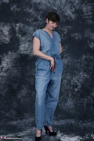 HotMilf. Denim Jumpsuit Free Pic 3