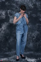 HotMilf. Denim Jumpsuit Free Pic 4