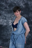 HotMilf. Denim Jumpsuit Free Pic 8