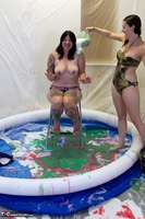 Gunked Up Girls. Lola Cums & Gets Creamed Free Pic 2
