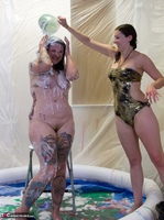 Gunked Up Girls. Lola Cums & Gets Creamed Free Pic 8