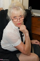 DirtyDoctor. Sexy Secretary Strip Free Pic 10