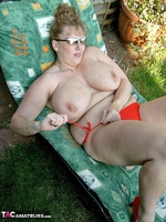 CurvyClaire. Sunbathing Pt2 Free Pic 8