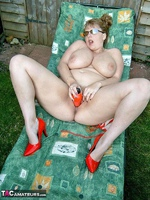 CurvyClaire. Sunbathing Pt2 Free Pic 14