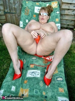 CurvyClaire. Sunbathing Pt2 Free Pic 16