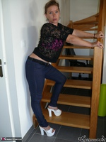 BlackLollipops. Stilettos On The Stairs Free Pic 2