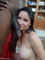 Richard Mann. Angie Noir takes a big black cock Free Pic 11