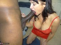 Richard Mann. Angie Noir takes a big black cock Free Pic 20