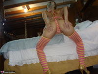 JoleneDevil. Candy stripe panties Free Pic 5