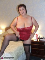 Kinky Carol. Leather Mini & Vibrator Pt2 Free Pic 2