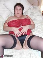 Kinky Carol. Leather Mini & Vibrator Pt2 Free Pic 4