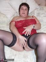 Kinky Carol. Leather Mini & Vibrator Pt2 Free Pic 5