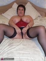 Kinky Carol. Leather Mini & Vibrator Pt2 Free Pic 11