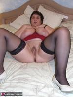 Kinky Carol. Leather Mini & Vibrator Pt2 Free Pic 16