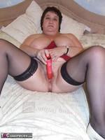Kinky Carol. Leather Mini & Vibrator Pt2 Free Pic 18