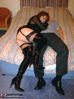 CurvyClaire. PVC Thigh Boot Fun Pt1 Free Pic 6
