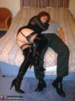 Curvy Claire. PVC Thigh Boot Fun Pt1 Free Pic 6
