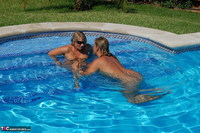 Sweet Susi. Two Hot Girls In The Pool Free Pic 1