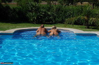 SweetSusi. Two Hot Girls In The Pool Free Pic 9