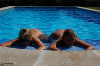 Sweet Susi. Two Hot Girls In The Pool Free Pic 13