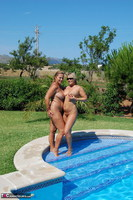 Sweet Susi. Two Hot Girls In The Pool Free Pic 19
