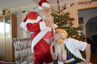 BarbySlut. Barby & Naughty Santa Free Pic 19