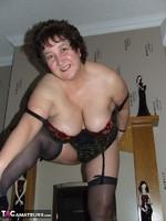 Kinky Carol. Tartan Miniskirt & Stockings Pt2 Free Pic 1