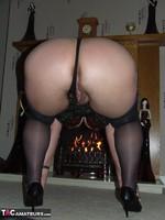 Kinky Carol. Tartan Miniskirt & Stockings Pt2 Free Pic 4