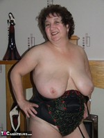 Kinky Carol. Tartan Miniskirt & Stockings Pt2 Free Pic 6