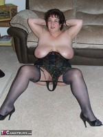 Kinky Carol. Tartan Miniskirt & Stockings Pt2 Free Pic 11