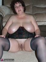 Kinky Carol. Tartan Miniskirt & Stockings Pt2 Free Pic 13