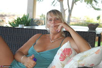 SweetSusi. Smoking On The Terrace Free Pic 2