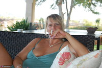 SweetSusi. Smoking On The Terrace Free Pic 3